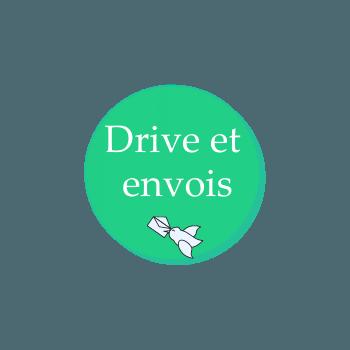 Drive et envoi pour la boutique eco responsable