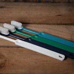 brosse à dent en bioplastique
