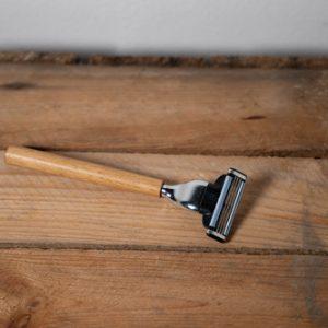 Rasoir en bois écologique