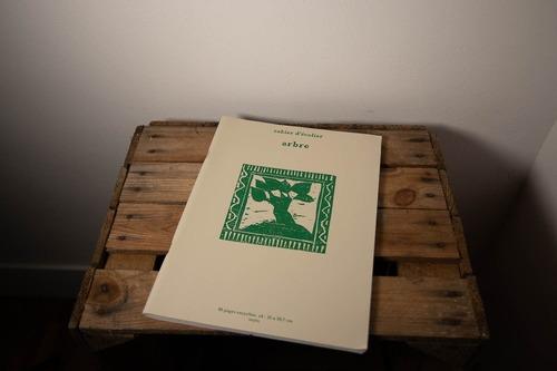 cahier arbre papier recyclé