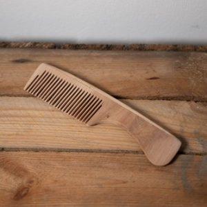 peigne en bois éco