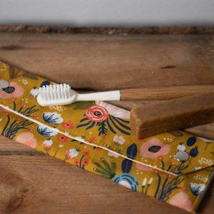 pochettes doubles dentifrice solide