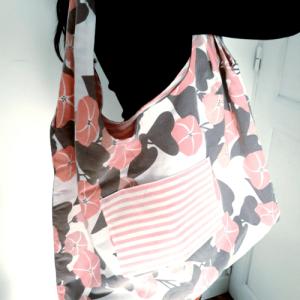 sac en tissu recyclé taie bag