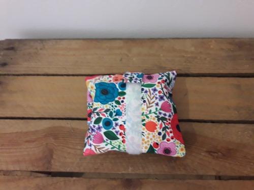 emballage lavable motif fleurs d'été