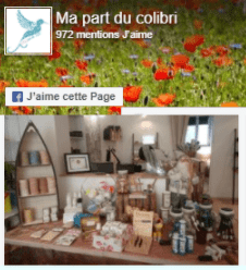 Facebook Ma Part du Colibri
